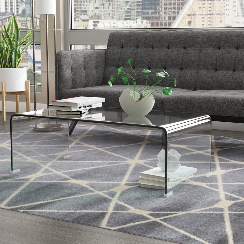 Clear Coffee Tables That Will Make Your Living Room Look Special