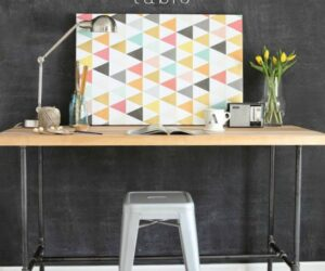 10 DIY Desk Ideas For The Home Office Of Your Dreams