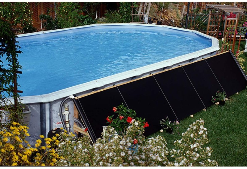 4 Best Solar Heaters For Above Ground Pool To Extend The Swimming Season