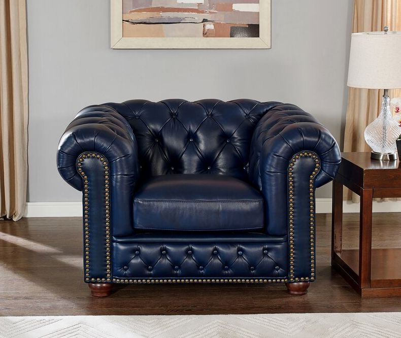 A Stylish Fix For Bland Interiors – Our Guide On Blue Accent Chairs