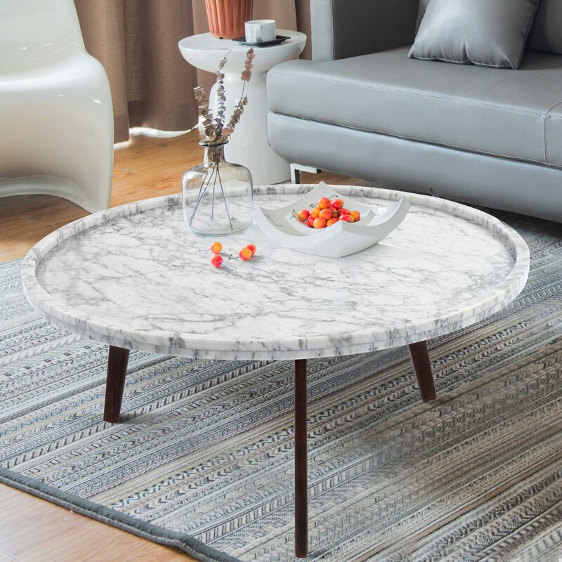 Marble Top Coffee Table Ideas That Will Make Your Living Room Look Special