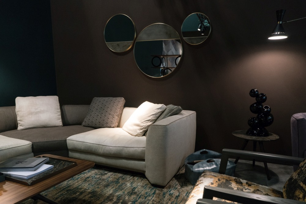 Combine dark accent colors with matte and elegant finishes to give them a deep and beautiful look