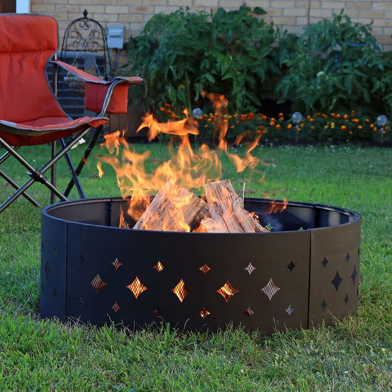 Our Best 10 Fire Pit Rings That Won T Burn A Hole Into Your Budget