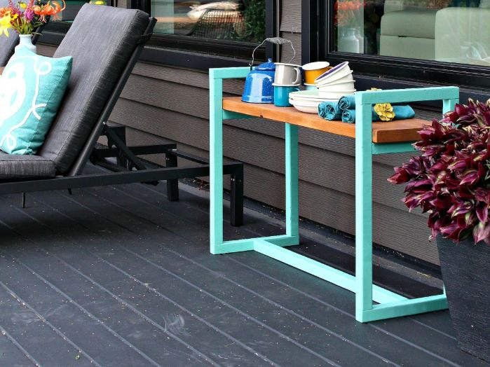 Make a simple bench with an interesting geometry