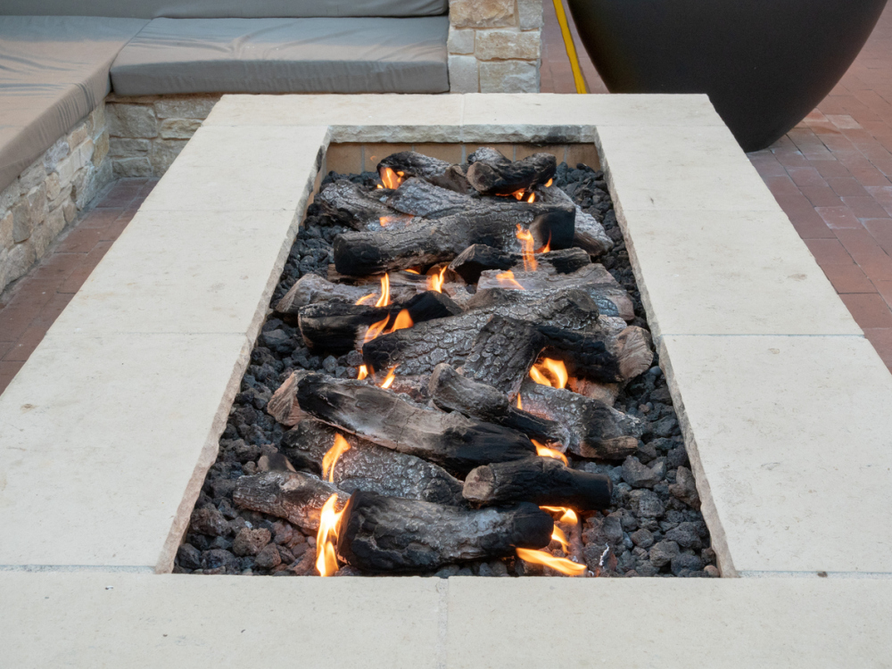 Rectangular Fire Pits