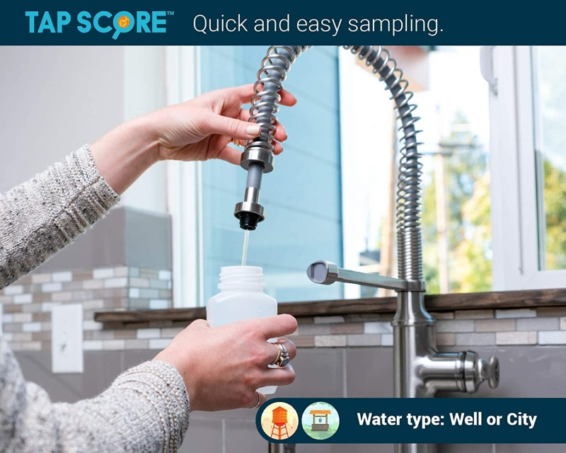 Check The Quality Of The Water With A Test Kit for Your Home