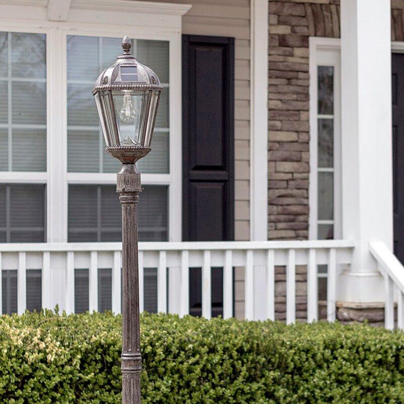 Lighten Up The Dark Garden Pathways With Best Solar Lamp Posts