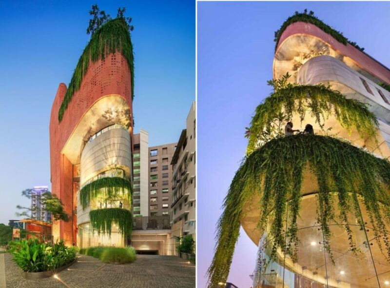 An Office Building In India That Looks Like A Sculptural Work Of Art