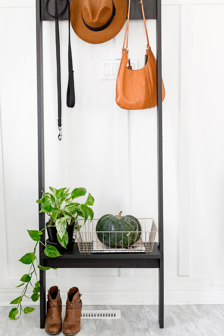 Craft the perfect coat rack for your entryway