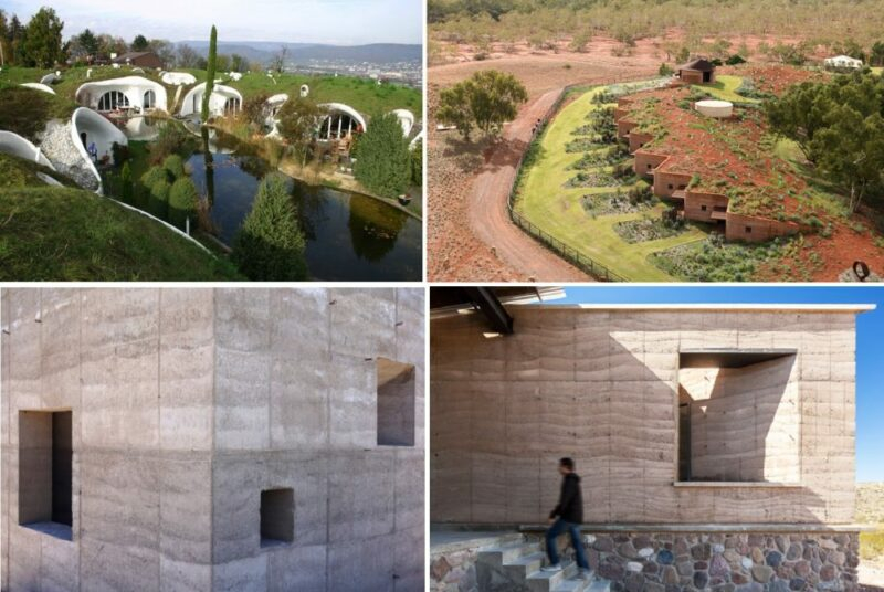 Wonderful Earth Homes That Rediscover The Beauty of Nature