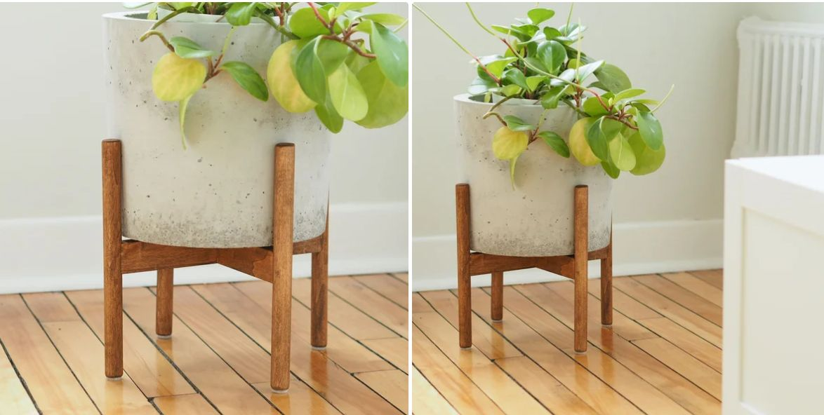 A plant stand for your favorite indoor greenery