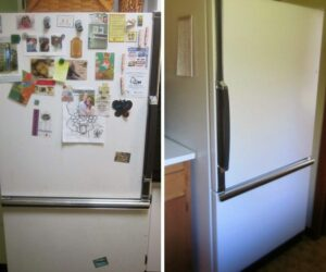 How To Paint Your Refrigerator And Change Its Look – It's Actually Easy
