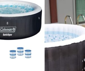 The Best Practical and Portable Inflatable Coleman SaluSpa Hot Tubs