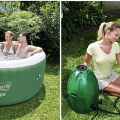 Inflatable Coleman SaluSpa Hot Tubs