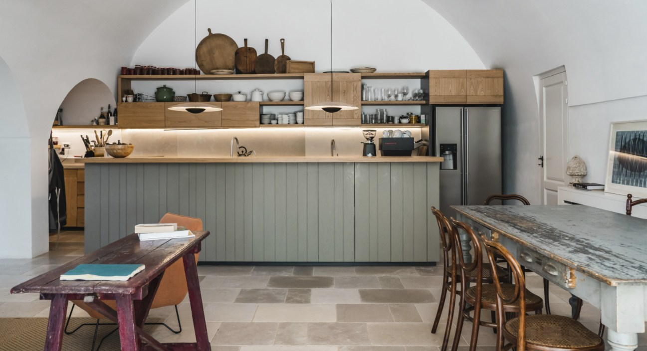 Stylish Ways To Put The Space Above Your Kitchen Cabinets To Good Use