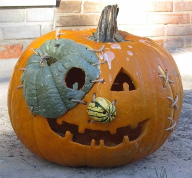 Franken Pumpkin