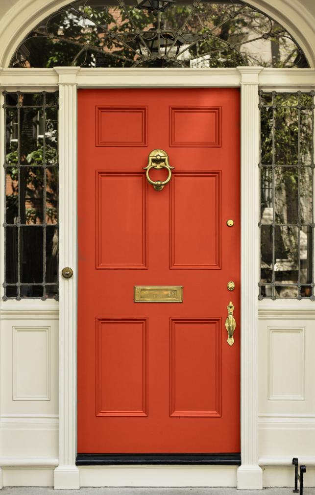 Front Door Harvest Color