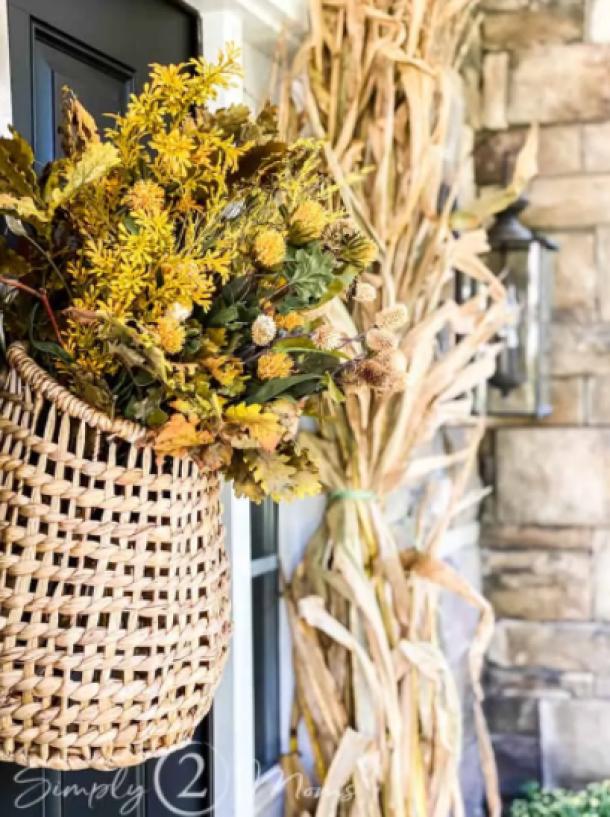 Hanging Door Basket