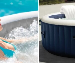 Turn Backyard Into A Relaxing Heaven With An Intex Inflatable Hot Tub