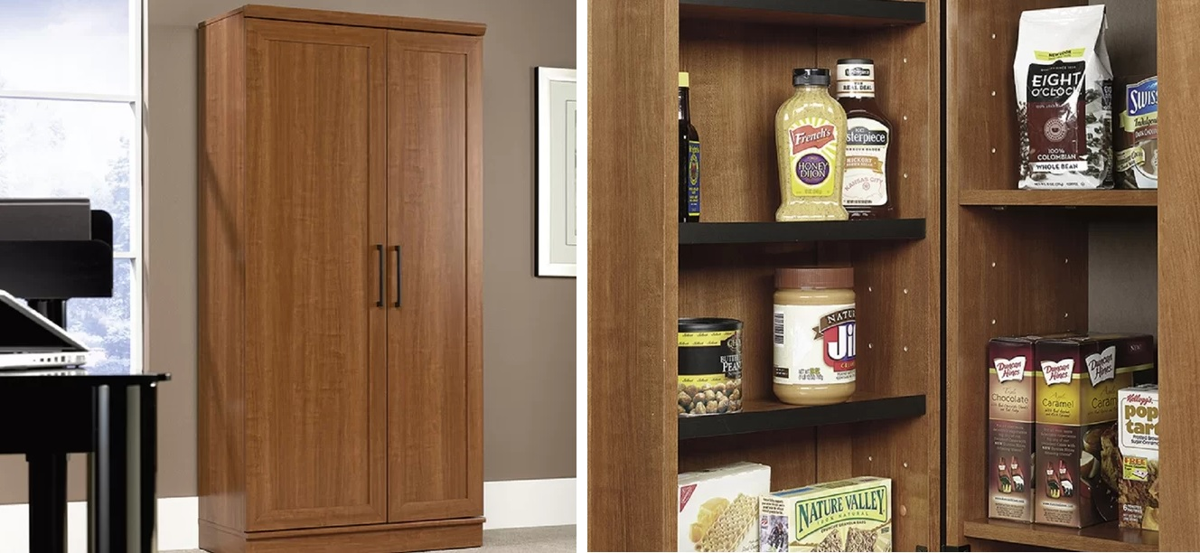 Clever Cabinet Kitchen Organization With A Freestanding Pantry