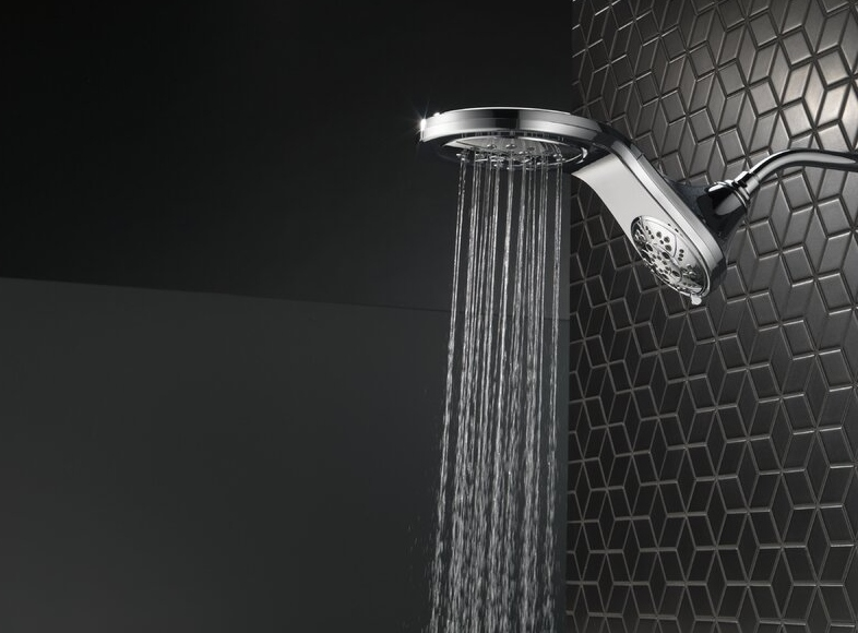 Multi Function Dual Shower Head with TouchClean