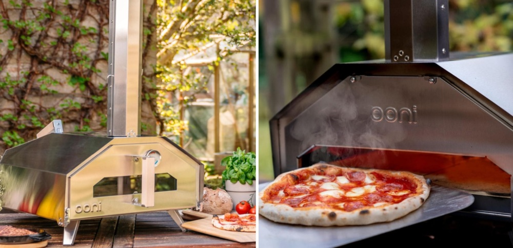 Ooni Pro Portable Outdoor Wood-Fired Pizza Oven