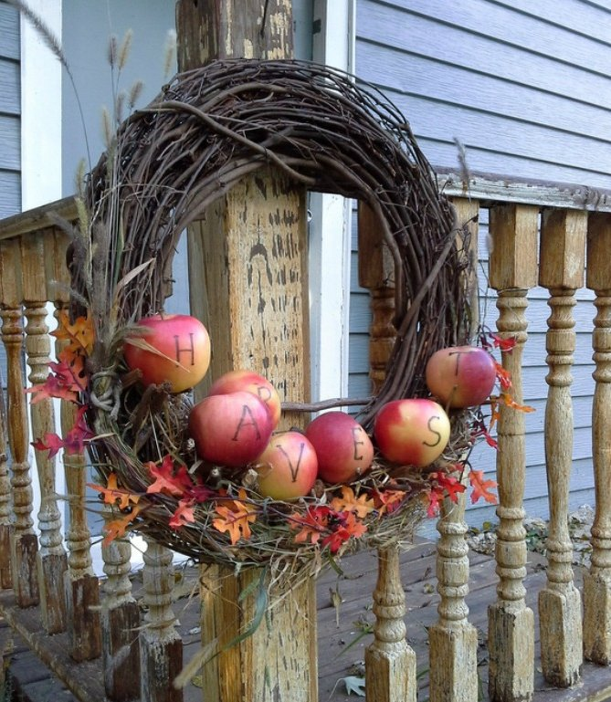 10 Beautiful Fall Craft Ideas That You Can Do With Fresh Apples