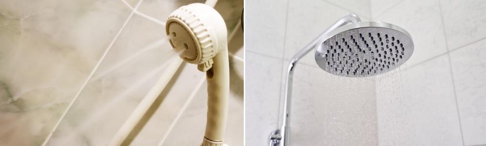 Plastic vs. Metal Shower Heads