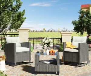 Waterproof Outdoor Furniture with Modern And Sophisticated Designs