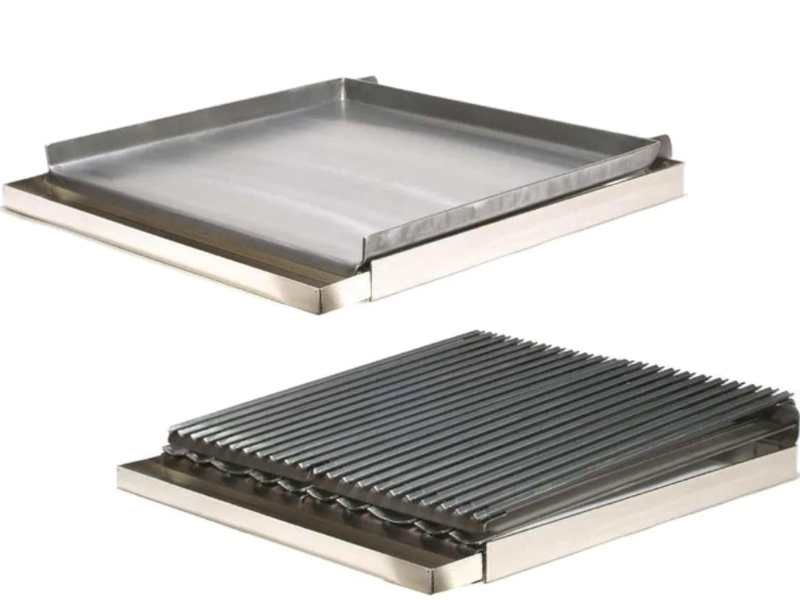 Rocky Mountain 24-Inch Wide Range Top Griddle/Broiler Combo