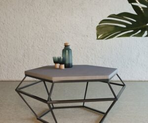 Make Your Living Room Rock With a Concrete Coffee Table