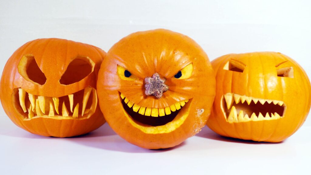 Toothy Smile Pumpkin