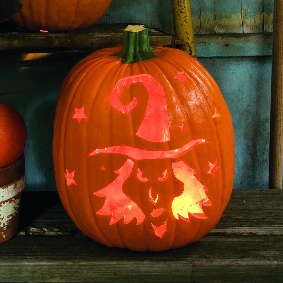 Witchy Pumpkin Design