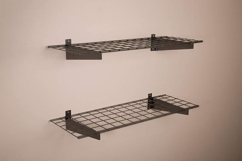 15-Inch Steel Wall Shelf for Garage