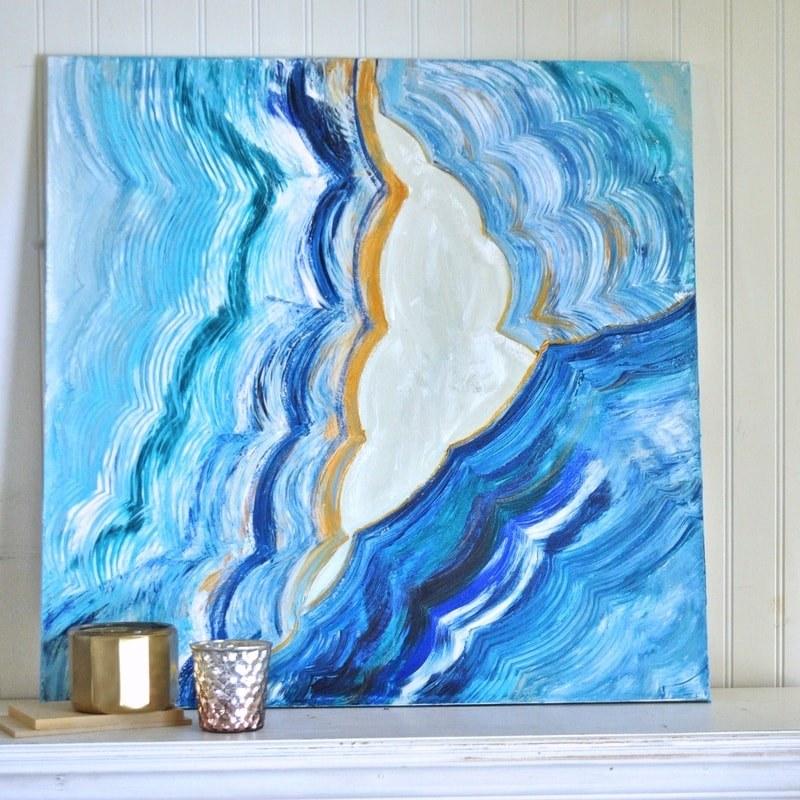 Agate-Inspired Artwork