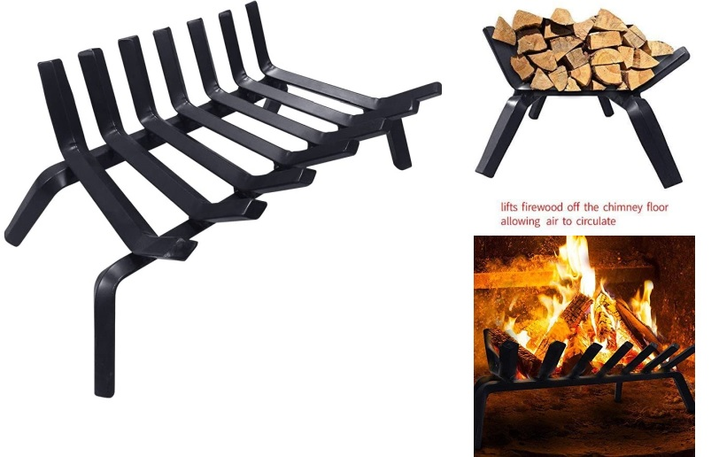This Winter S Best Fireplace Grates, What Is The Best Material For A Fireplace Grate