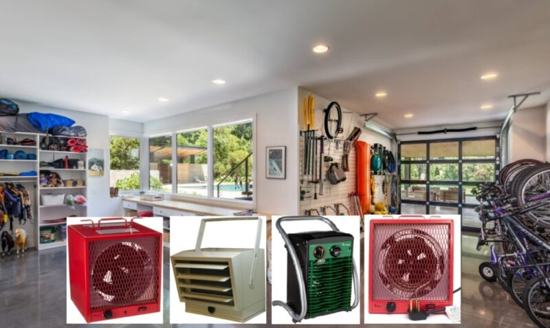 Proper Heating For Every Space In Your Home – A Selection Of 7 Best Electric Garage Heaters