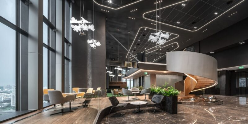 A Stylish Office Design in Bangkok Is A Second Home To Its Large Employee Family