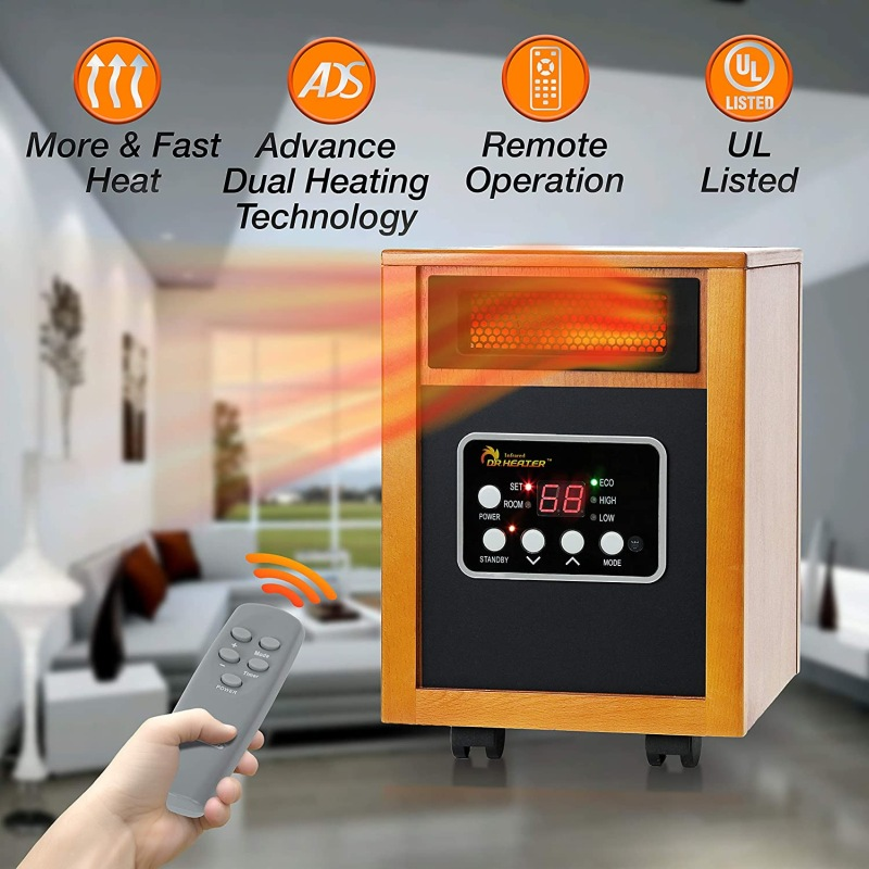 Energy-Efficient Space Heaters – Convenience And Performance For Supplemental Heating