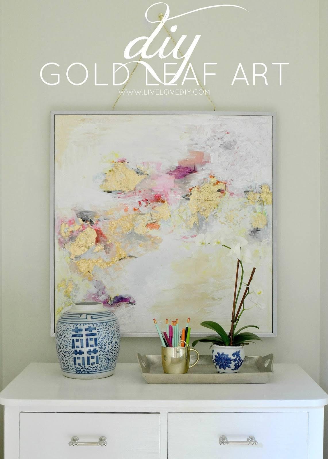Gold Leaf Art