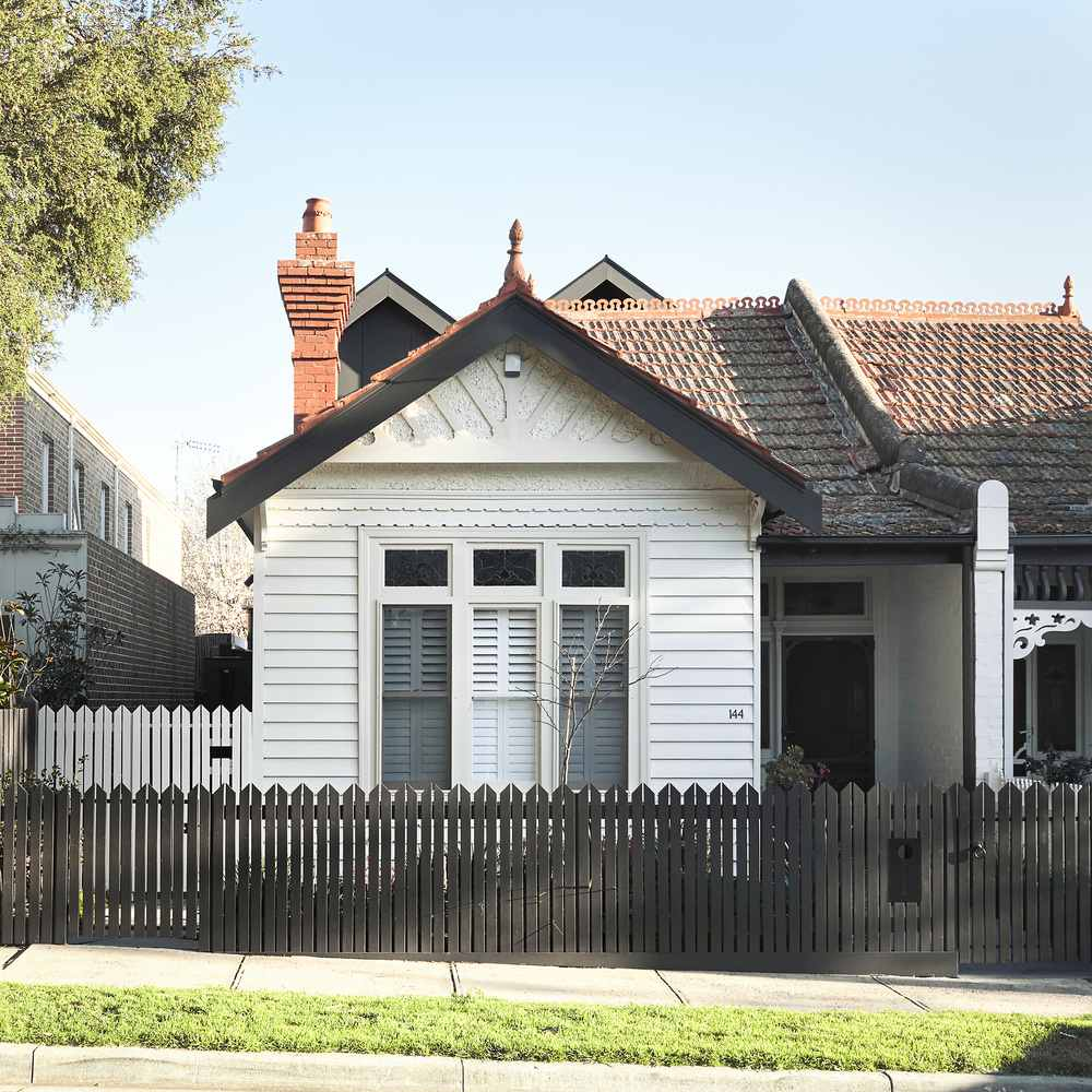The front of the house preserves the heritage intact and had minimal changes done to it