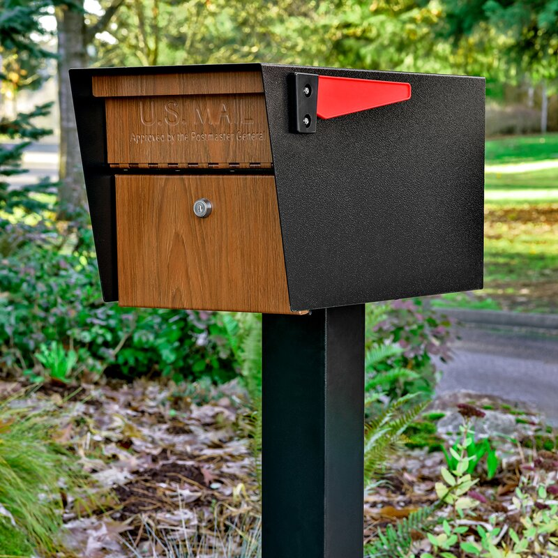 Keep Your Mail Safe And Secure Deliveries With A Cool Locking Mailbox