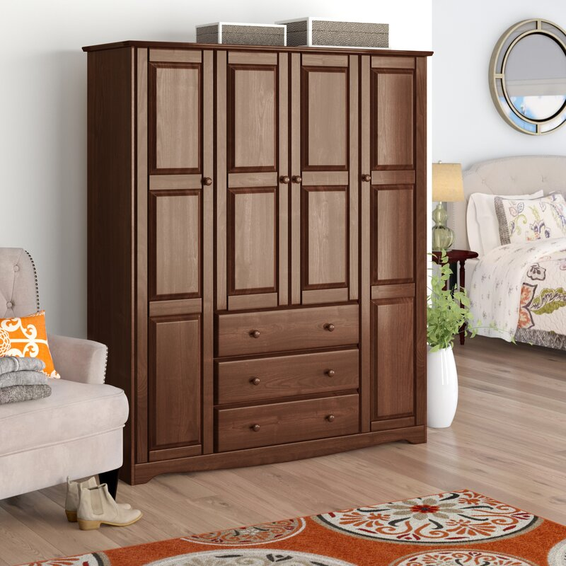 Store Your Clothes Inside A Beautiful Bedroom Wardrobe