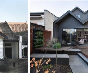 An Unusual Remodel And Extension Done To A Edwardian House from Australia