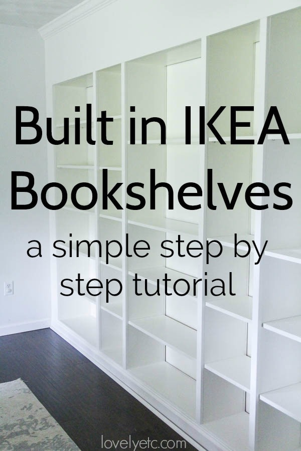 Reuse IKEA Bookshelves