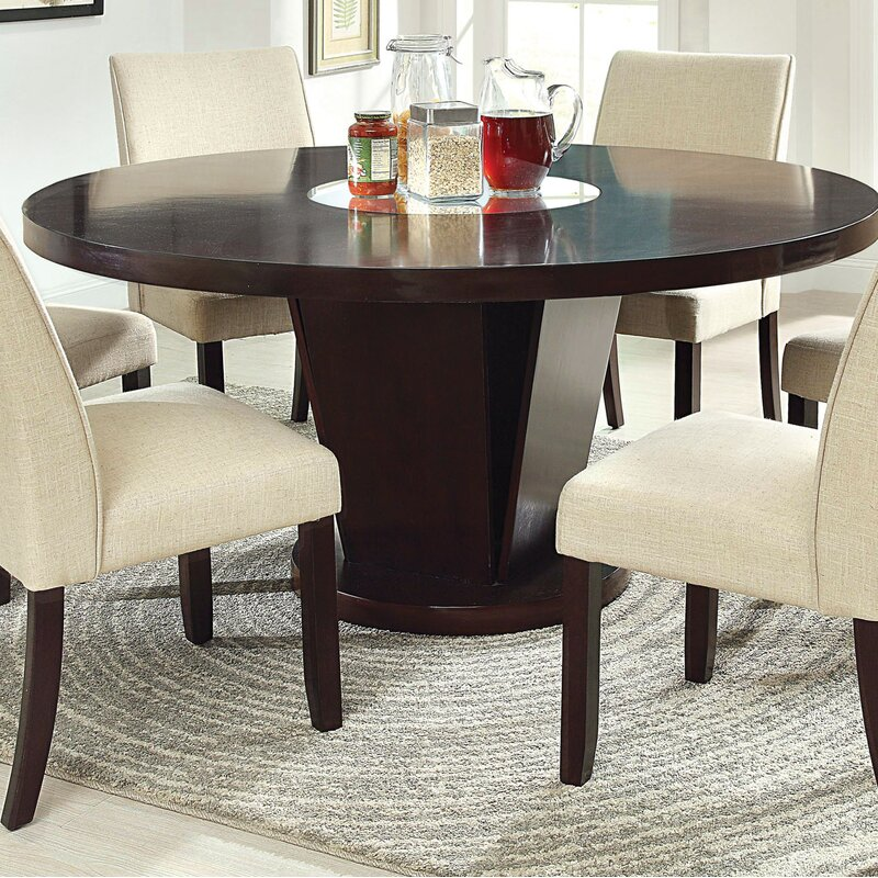Awesome Round Dining Table For 6 With Super Stylish Designs For Your Home