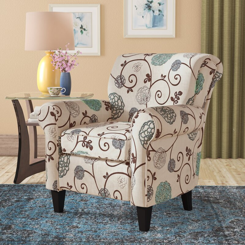 Add Some Style and Flare with These Floral Armchair Designs
