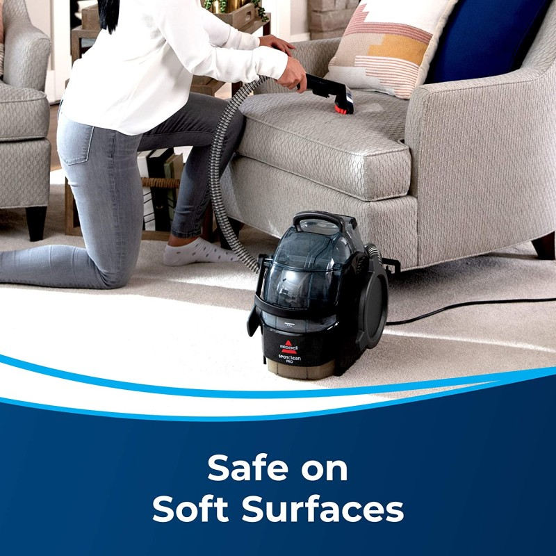 Bissell 3624 Spot Clean Professional Portable Upholstered Sofa-Couch Cleaner