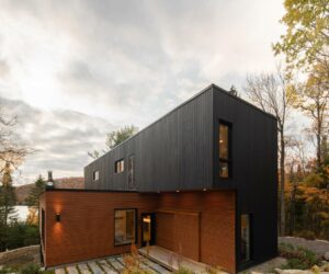 Beautiful Woodland House Built From Five Prefab Modules