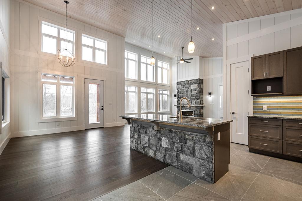 Choose Shiplap to Complement Loft Ceilings
